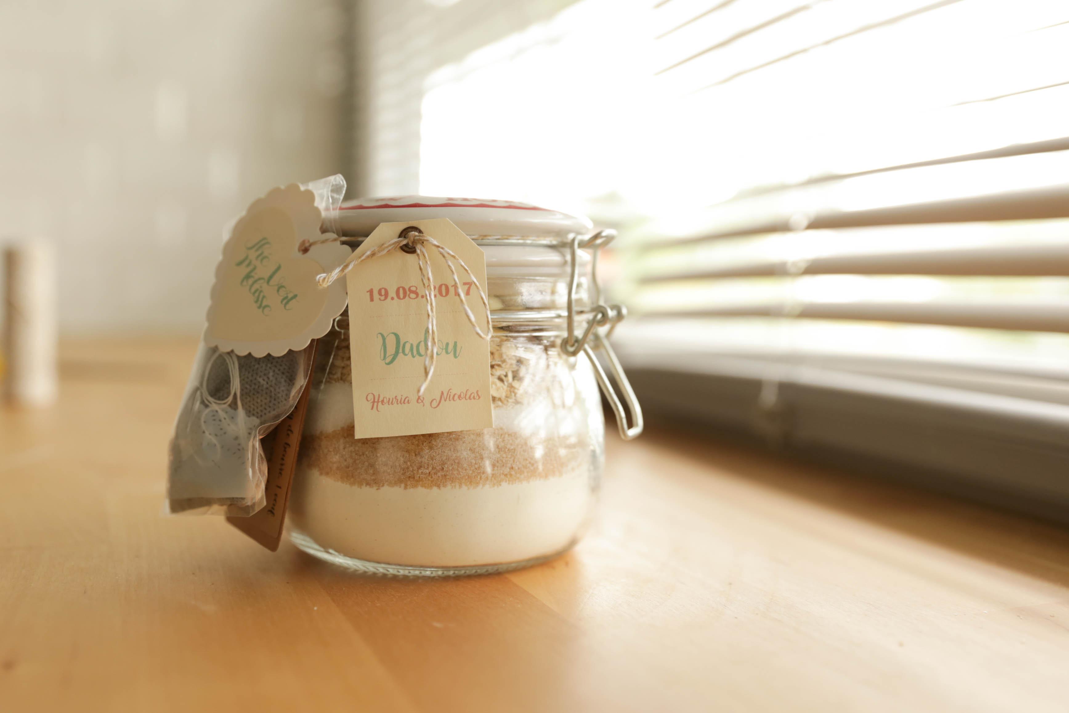 Bocal SOS cookies : LE cadeau original à offrir à vos invités (DIY & Food)
