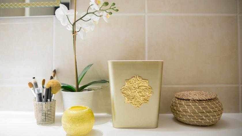 Orientaliser sa poubelle de salle de bain (DIY)