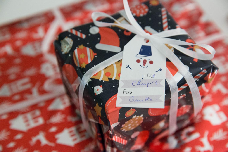 Etiquettes cadeaux de Noël | DIY