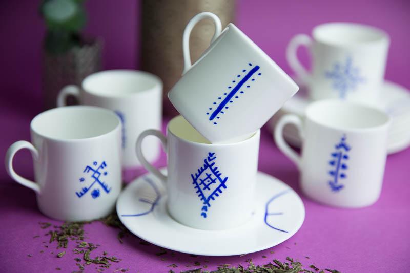 Tasses inspiration berbères | DIY